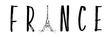 FRANCE Typography | Panoramic van