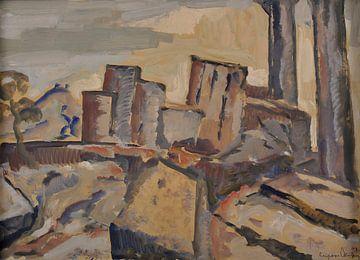 Sirak Skitnik (1883-1943)-Landschaft aus Griechenland
