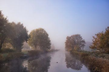 Morning haze sur Babs Boelens