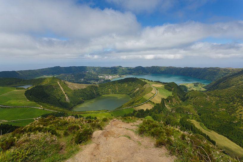 Sete Cidades, Azoren, Portugal van Pieterpb