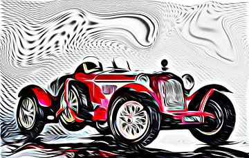"Alfa Romeo 2300 ""Monza"" van Jean-Louis Glineur alias DeVerviers"