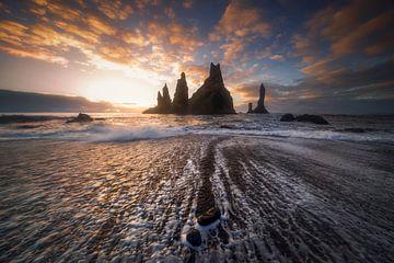 Vik, IJsland van Sven Broeckx