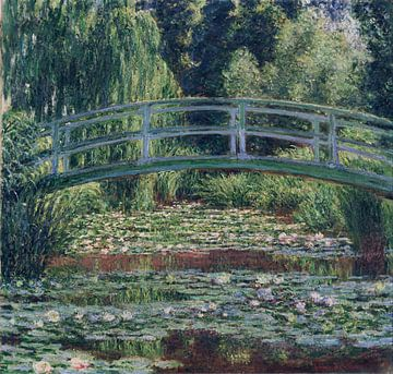 De Japanse brug en de waterlelies, Claude Monet van Meesterlijcke Meesters