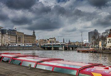 Grachten van Amsterdam van Hamperium Photography