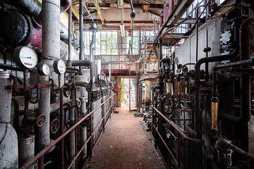 Industrie abandonnée. sur Roman Robroek