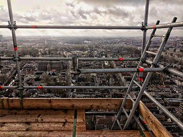 Uitzicht vanuit de Domtoren in Utrecht