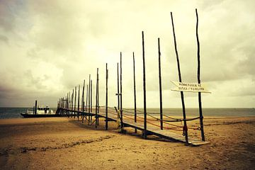 waddenveer Texel-Vlieland sur Els Fonteine