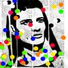 Newspaper Point Pop Art PUR van Felix von Altersheim thumbnail