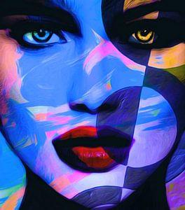 Just Face - Midnight - Abstrakt Game
