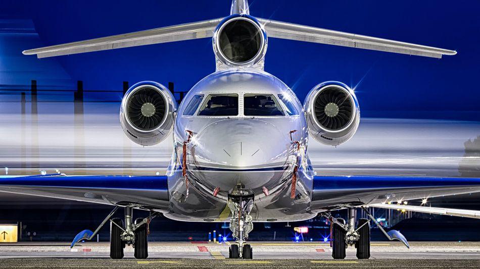 Business Jet op Schiphol Oost