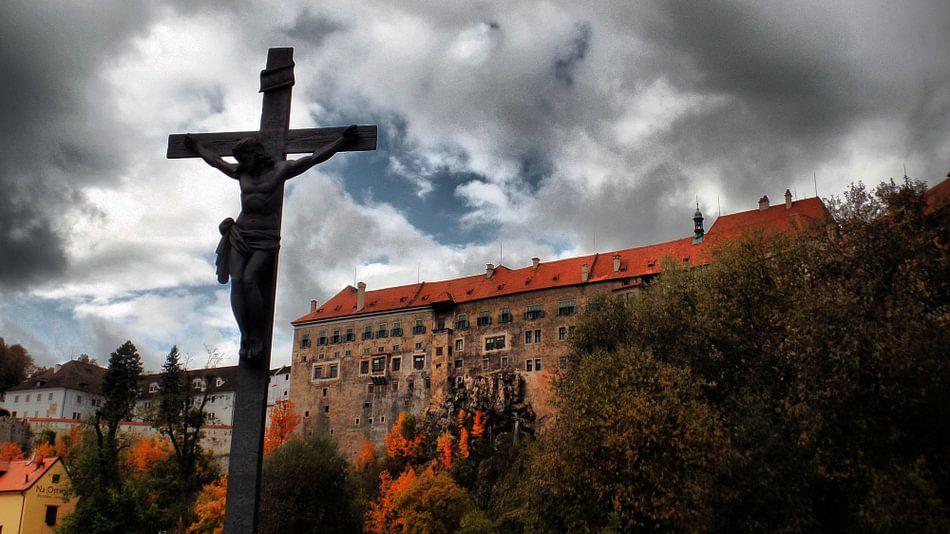 Schloss Krumau von Ilona Picha-Höberth