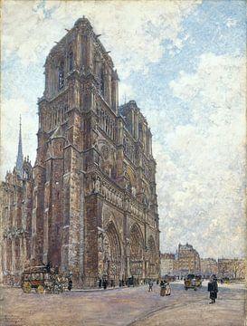 Notre Dame im Jahre 1901 von Atelier Liesjes