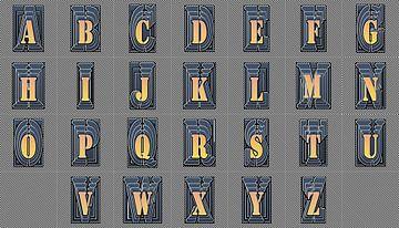 Alfabet nr.12 van Leopold Brix