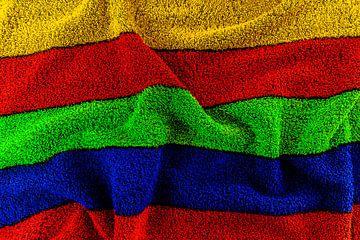 Badhanddoek YRGB van Marcel Kieffer