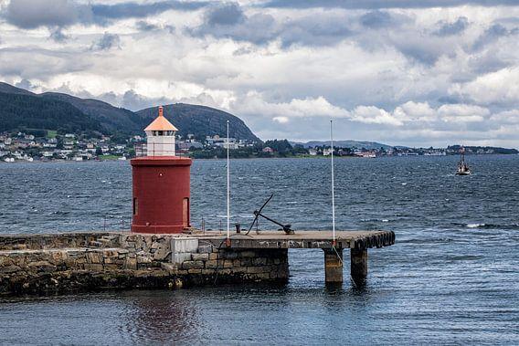 Lighthouse in Alesund van Rico Ködder