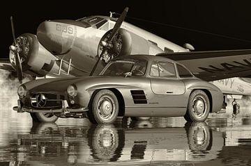 Mercedes 300SL Flügeltürer ist der berühmteste Oldtimer von Jan Keteleer