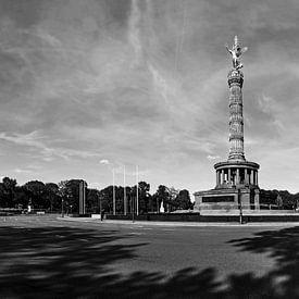Siegessäule Berlin und Grosser Stern von Frank Herrmann