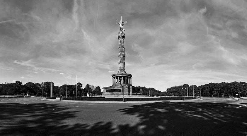 Colonne de la Victoire Berlin et Grande Étoile sur Frank Herrmann