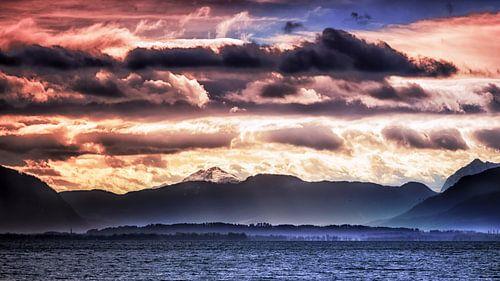 Wolkenlandschaft van Holger Debek