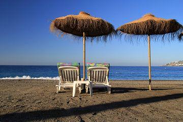 Relaxing on the Beach sur Cornelis (Cees) Cornelissen