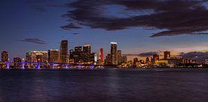 Panorama van Downtown Miami van