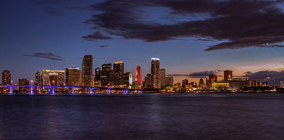 Panorama van Downtown Miami