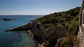 Blick aufs Meer von Dalt Vila aus von Alexander Wolff