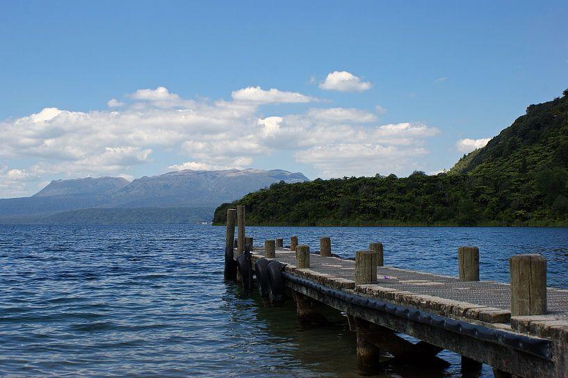 Lake view van Jeroen van Deel