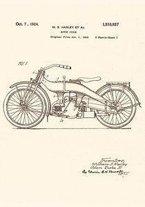 Patent HARLEY - DAVIDSON 1924!