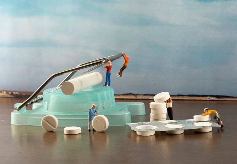 making pills van Compuinfoto .