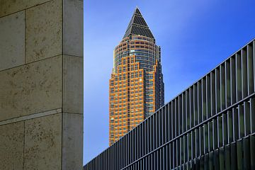 Messeturm Frankfurt van Patrick Lohmüller