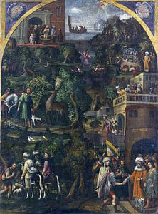 Legende des Heiligen Eustachius, 16-17e eeuw