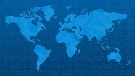 Blue Digital World