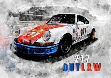 Porsche Outlaw, Magnus Walker von Theodor Decker