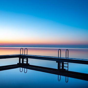 Grevelingenmeer le matin sur Kees Kroon