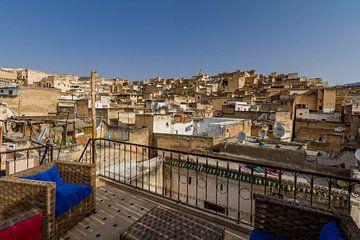 Medina aus Fes, Marokko von Koen Henderickx