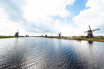 Windmolens op de Kinderdijk van