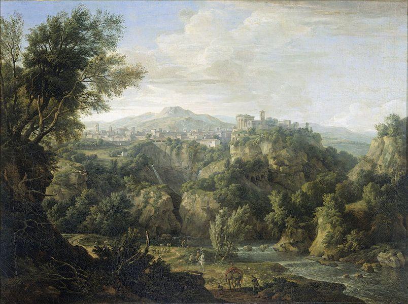 Blick auf Tivoli, Isaac de Moucheron von Marieke de Koning