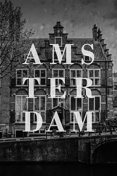 Steden in de regen: Amsterdam II van Christian Müringer