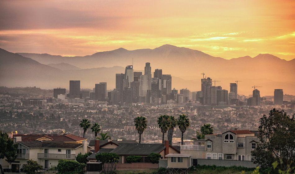 Los Angeles sunrise van Reinier Snijders