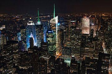 New York la nuit van Arnaud Bertrande
