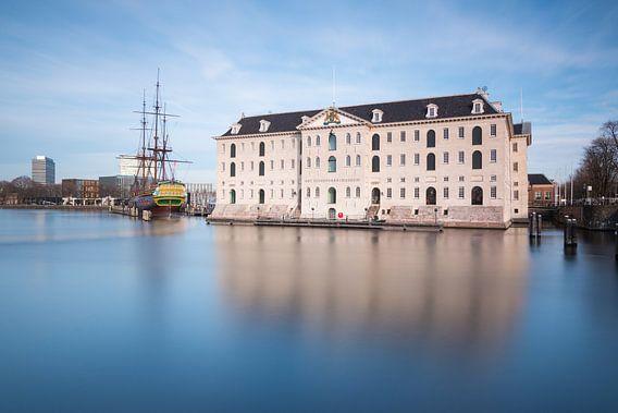 Scheepvaartmuseum Amsterdam van Ilya Korzelius