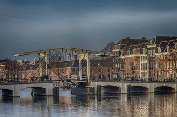 De Magere Brug in Amsterdam. van Don Fonzarelli