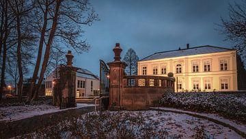 Porte médiévale dans le parc du château de Bad Bentheim sur Edith Albuschat