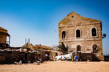 Architektur Gorée Senegal von Babet Trommelen
