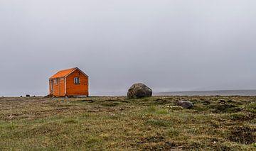 Hut op IJsland van Daan Kloeg