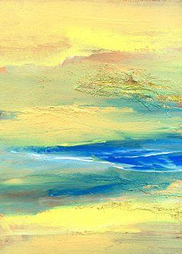 Entspannung  - Wasser und Sand von Claudia Gründler