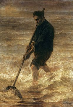 Le pêcheur, Jozef Israëls sur