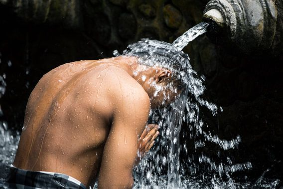 Watertempel Tirta Empul - Bali, Indonesië van Martijn Smeets