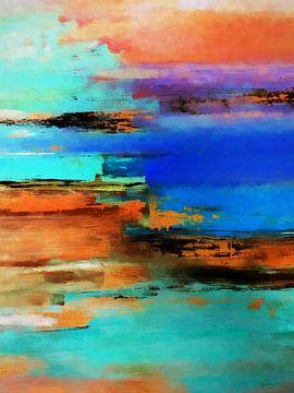 Abstracte samenstelling 832 van Angel Estevez